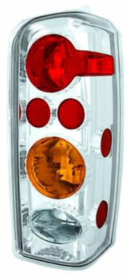 Headlights & Tail Lights - Tail Lights - In Pro Carwear - Jeep Cherokee IPCW Taillights - Crystal Eyes - 1 Pair - CWT-CE5004CA
