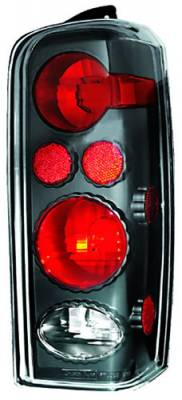 Headlights & Tail Lights - Tail Lights - In Pro Carwear - Jeep Cherokee IPCW Taillights - Crystal Eyes - 1 Pair - CWT-CE5004CB