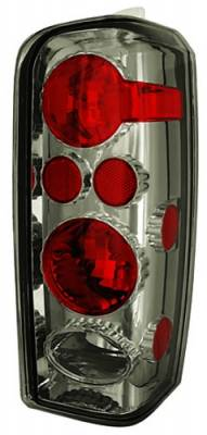 Headlights & Tail Lights - Tail Lights - In Pro Carwear - Jeep Cherokee IPCW Taillights - Crystal Eyes - 1 Pair - CWT-CE5004CS