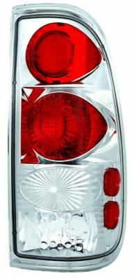 Headlights & Tail Lights - Tail Lights - In Pro Carwear - Ford F250 IPCW Taillights - Crystal Eyes - 1 Pair - CWT-CE501C