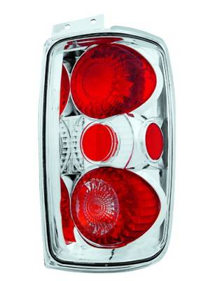 Headlights & Tail Lights - Tail Lights - In Pro Carwear - Ford Expedition IPCW Taillights - Crystal Eyes - 1 Pair - CWT-CE501EC