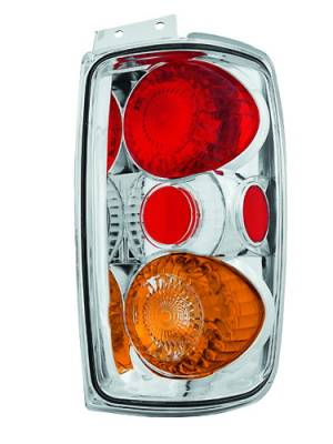 Headlights & Tail Lights - Tail Lights - In Pro Carwear - Ford Expedition IPCW Taillights - Crystal Eyes - 1 Pair - CWT-CE501ECA