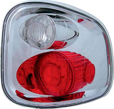 Headlights & Tail Lights - Tail Lights - In Pro Carwear - Ford F250 IPCW Taillights - Crystal Eyes - 1 Pair - CWT-CE501FC