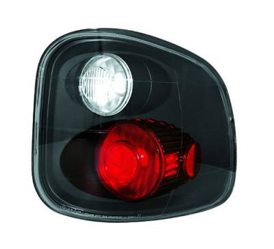 Headlights & Tail Lights - Tail Lights - In Pro Carwear - Ford F250 IPCW Taillights - Crystal Eyes - 1 Pair - CWT-CE501FCB