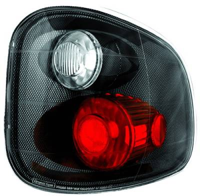 Headlights & Tail Lights - Tail Lights - In Pro Carwear - Ford F250 IPCW Taillights - Crystal Eyes - 1 Pair - CWT-CE501FCF