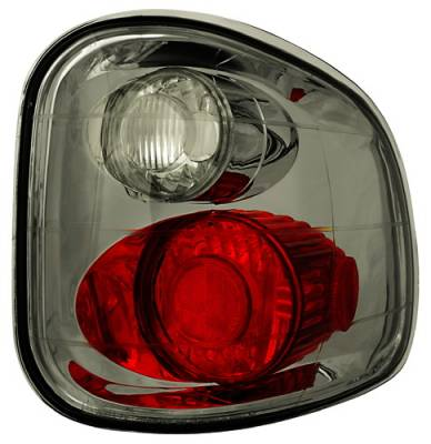 Headlights & Tail Lights - Tail Lights - In Pro Carwear - Ford F250 IPCW Taillights - Crystal Eyes - 1 Pair - CWT-CE501FCS