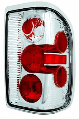 Headlights & Tail Lights - Tail Lights - In Pro Carwear - Ford Ranger IPCW Taillights - Crystal Eyes - 1 Pair - CWT-CE506BC