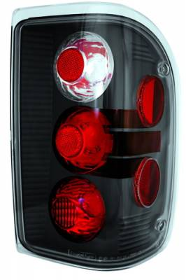 Headlights & Tail Lights - Tail Lights - In Pro Carwear - Ford Ranger IPCW Taillights - Crystal Eyes - 1 Pair - CWT-CE506BCB