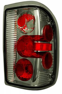 Headlights & Tail Lights - Tail Lights - In Pro Carwear - Ford Ranger IPCW Taillights - Crystal Eyes - 1 Pair - CWT-CE506BCS
