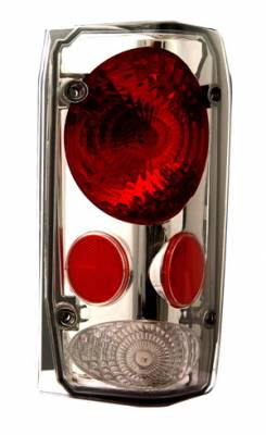 Headlights & Tail Lights - Tail Lights - In Pro Carwear - Ford Bronco IPCW Taillights - Crystal Eyes - 1 Pair - CWT-CE507CS