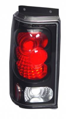 Headlights & Tail Lights - Tail Lights - In Pro Carwear - Ford Explorer IPCW Taillights - Crystal Eyes - 1 Pair - CWT-CE510BCB