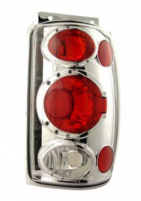 Headlights & Tail Lights - Tail Lights - In Pro Carwear - Ford Explorer IPCW Taillights - Crystal Eyes - 1 Pair - CWT-CE510C