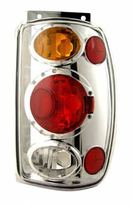 Headlights & Tail Lights - Tail Lights - In Pro Carwear - Ford Explorer IPCW Taillights - Crystal Eyes - 1 Pair - CWT-CE510CA