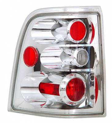 Headlights & Tail Lights - Tail Lights - In Pro Carwear - Ford Explorer IPCW Taillights - Crystal Eyes - 1 Pair - CWT-CE510CC