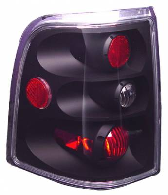 Headlights & Tail Lights - Tail Lights - In Pro Carwear - Ford Explorer IPCW Taillights - Crystal Eyes - 1 Pair - CWT-CE510CCB