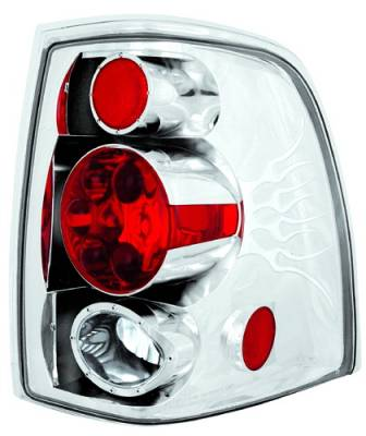 Headlights & Tail Lights - Tail Lights - In Pro Carwear - Ford Expedition IPCW Taillights - Crystal Eyes - 1 Pair - CWT-CE517C