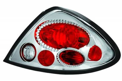 Headlights & Tail Lights - Tail Lights - In Pro Carwear - Ford Taurus IPCW Taillights - Crystal Eyes - 1 Pair - CWT-CE518C