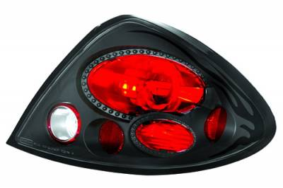 Headlights & Tail Lights - Tail Lights - In Pro Carwear - Ford Taurus IPCW Taillights - Crystal Eyes - 1 Pair - CWT-CE518CB