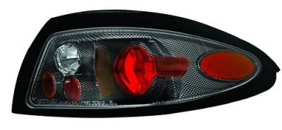 Headlights & Tail Lights - Tail Lights - In Pro Carwear - Mercury Tracer IPCW Taillights - Crystal Eyes - 1 Pair - CWT-CE527CF