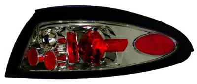 Headlights & Tail Lights - Tail Lights - In Pro Carwear - Mercury Tracer IPCW Taillights - Crystal Eyes - 1 Pair - CWT-CE527CS