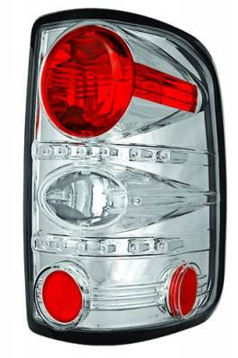 Headlights & Tail Lights - Tail Lights - In Pro Carwear - Ford F250 IPCW Taillights - Crystal Eyes - 1 Pair - CWT-CE538C