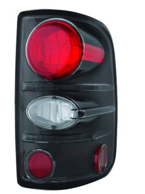 Headlights & Tail Lights - Tail Lights - In Pro Carwear - Ford F250 IPCW Taillights - Crystal Eyes - 1 Pair - CWT-CE538CB
