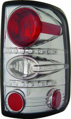 Headlights & Tail Lights - Tail Lights - In Pro Carwear - Ford F250 IPCW Taillights - Crystal Eyes - 1 Pair - CWT-CE538CS