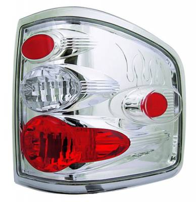 Headlights & Tail Lights - Tail Lights - In Pro Carwear - Ford F250 IPCW Taillights - Crystal Eyes - 1 Pair - CWT-CE539C