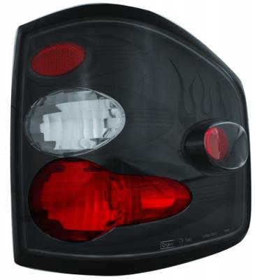 Headlights & Tail Lights - Tail Lights - In Pro Carwear - Ford F250 IPCW Taillights - Crystal Eyes - 1 Pair - CWT-CE539CB