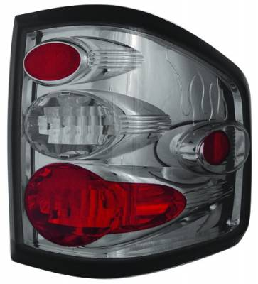 Headlights & Tail Lights - Tail Lights - In Pro Carwear - Ford F250 IPCW Taillights - Crystal Eyes - 1 Pair - CWT-CE539CS