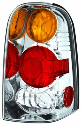 Headlights & Tail Lights - Tail Lights - In Pro Carwear - Ford Escape IPCW Taillights - Crystal Eyes - 1 Pair - CWT-CE540CA