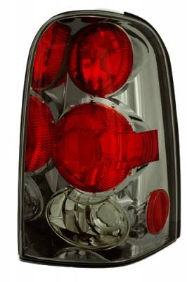 Headlights & Tail Lights - Tail Lights - In Pro Carwear - Ford Escape IPCW Taillights - Crystal Eyes - 1 Pair - CWT-CE540CS