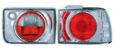 Headlights & Tail Lights - Tail Lights - In Pro Carwear - Honda Accord 4DR IPCW Taillights - Crystal Eyes - 1PC - CWT-CE709