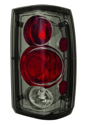 Headlights & Tail Lights - Tail Lights - In Pro Carwear - Mazda B-Series Truck IPCW Taillights - Crystal Eyes - 1 Pair - CWT-CE804CS