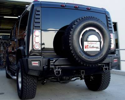 Headlights & Tail Lights - Tail Lights - In Pro Carwear - Hummer H2 IPCW Bumper Lights - Rear - 1 Pair - LEDT-343BPC