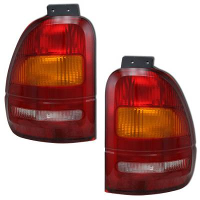 Headlights & Tail Lights - Tail Lights - MotorBlvd - Ford Tail Lights