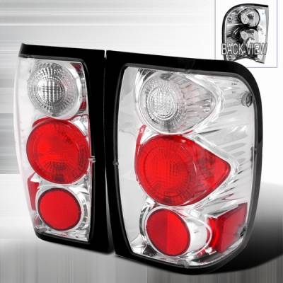 Headlights & Tail Lights - Tail Lights - Motor Blvd - Ford Ranger Chrome Taillights - LT-RAN98-YD
