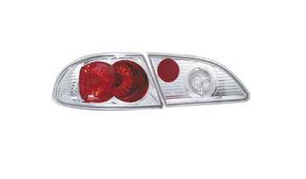 Headlights & Tail Lights - Tail Lights - Matrix - Chrome Taillights - MTX-09-2033