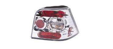 Headlights & Tail Lights - Tail Lights - Matrix - Chrome Taillights - MTX-09-2095