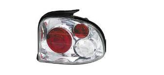 Headlights & Tail Lights - Tail Lights - Matrix - Chrome Taillights - MTX-09-258