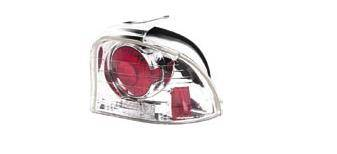 Headlights & Tail Lights - Tail Lights - Matrix - Chrome Taillights - MTX-09-258-1