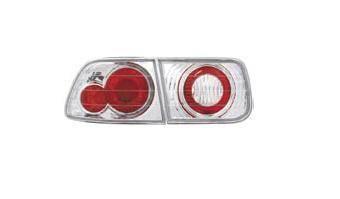 Headlights & Tail Lights - Tail Lights - Matrix - Chrome Taillights - MTX-09-260