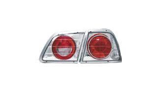 Headlights & Tail Lights - Tail Lights - Matrix - Chrome Taillights - MTX-09-344