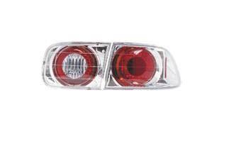 Headlights & Tail Lights - Tail Lights - Matrix - Chrome Taillights - MTX-09-355