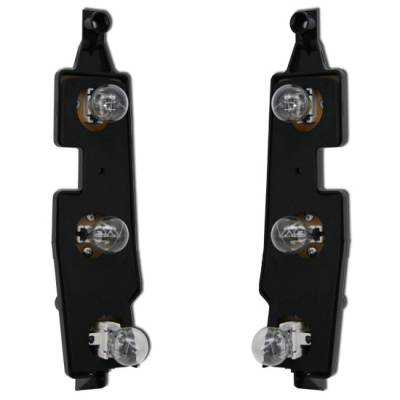 Headlights & Tail Lights - Tail Lights - MotorBlvd - Chevrolet Tail Light Connector Plates