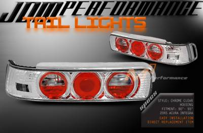 JKL - JDM Euro Chrome Clear Taillights