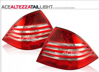 Headlights & Tail Lights - Tail Lights - Motor Blvd - Red Clear Taillights