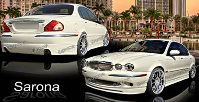 X Type - Body Kits - Sarona - Jaguar X Type Sarona Body Kit - JG-003-KT