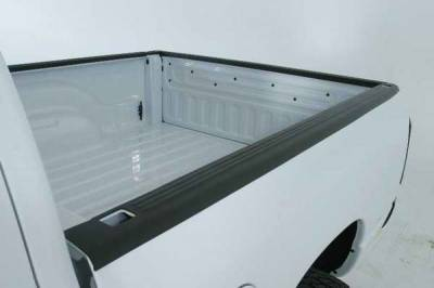 Suv Truck Accessories - Bed Accessories - Wade - Wade Black Ribbed Bed Cap with Stake Holes Pockets - 1101