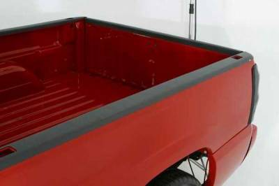 Suv Truck Accessories - Bed Accessories - Wade - Wade Black Smooth Bed Cap without Stake Holes Pockets - 40181